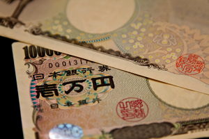 1万円札の写真